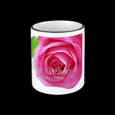 Lovely rose mug, best wishes on your name day