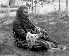 Interestingly, the collection included the individuals' fascinating names, such as this man called Big Belly, the Tsuu T'ina chief