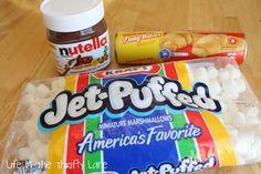 Nutella Pockets