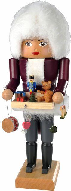Nutcracker Christmas Market Salesperson - 30 cm / 12 inch