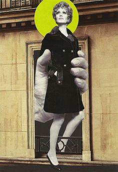 Cut & paste collage (a collaboration between Sabine Remy & Lynn Skordal).