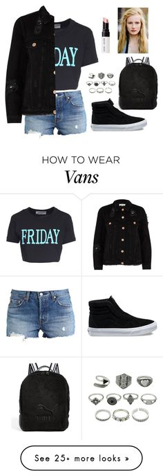 """""""fashion"""" by ee3674889 on Polyvore featuring Alberta Ferretti, Levi's, River Island, Vans, Puma, Bobbi Brown Cosmetics and polyPresents"""