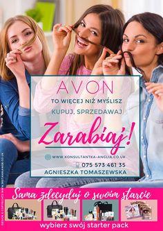 #Avon - kto ma ochotę dołączyć do nas? Lubisz kosmetyki Avon? Kupuj je taniej lub zarabiaj na sprzedaży💋 Dołącz do nas i zostań #konsultanką Zapraszam, napisz do mnie o wszystkim Ci opowiem. Avon Online Shop, Uk Shop, Nasa, Shopping, Design