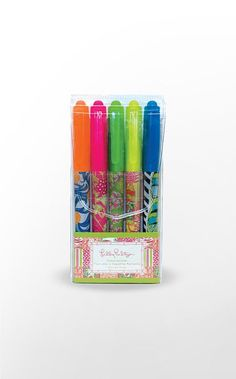 Lilly Pulitzer Highlighters!!  It's really quite sad...I get so excited over office/school supplies lol