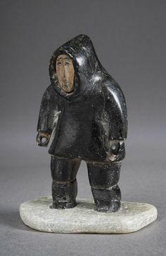 Art Inuit, Sculptures, Lion Sculpture, Art Premier, Tlingit, Art Carved, American Indian Art, Canadian Artists, Elements Of Art