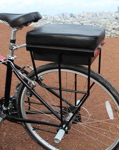 companion bike seat - For more great pics, follow www.bikeengines.com