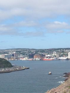 A taste of my home - St. John's, Newfoundland Canada. The furthest easterly city in North America.