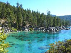 Secret Cove Lake Tahoe, Kings Beach Lake Tahoe, Lake Tahoe Summer, Lakes In California, California Travel, Northern California, Lake Tahoe Resorts, Places To Travel, Places To Go