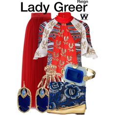 Inspired by Celina Sinden as Lady Greer on Reign.