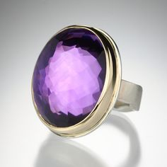 Amethyst Ring by Jamie Joseph, Quadrum http://quadrumgallery.com/artists