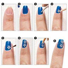 Tendencia: Uñas decoradas con flores ideales para el verano | Decoración de Uñas - Manicura y Nail Art