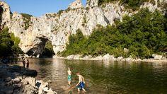 Vallon pont d'arc, Gorges, Ardèche - Le Domaine de Chaussy, France