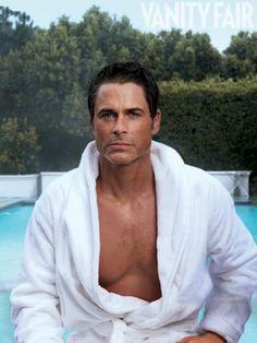 Looking fierce...grrr....Rob Lowe, Actually | Hollywood | Vanity Fair