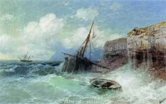 Seascapes Painting | Ivan Konstantinovich Aivazovsky's Works - Paintings-Gallery.com
