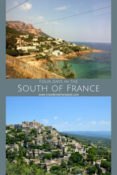 Ideas for a short trip to the South of France including Nice, Monaco, and Provence