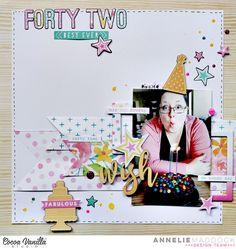 Forty Two - Cocoa Vanilla Studio - Scrapbook.com