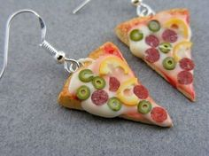 24 Food Shaped Pendant and