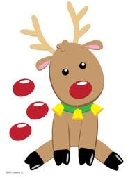 pin the nose on rudolph - Google Search