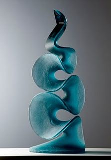 "glass scukptue artist Vladimira Klumpar. (For more glass art visit my board ""glass art"". Irit)"