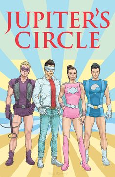 Frank Quitely - Jupiter`s Circle #4