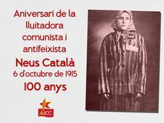 Aniversari de la Neus Català, comunista i antifeixista by Joventut Comunista de Catalunya (JCC)