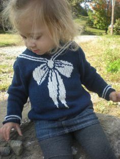 PDF First Mate Sweater Baby Toddler Knitting Pattern