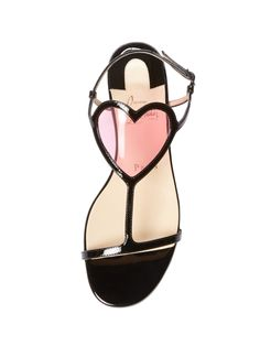 Cora Patent Leather Sandal by Christian Louboutin