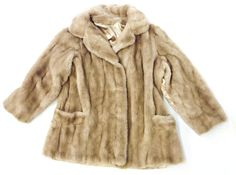 karina karina faux fur coat / size medium / size large