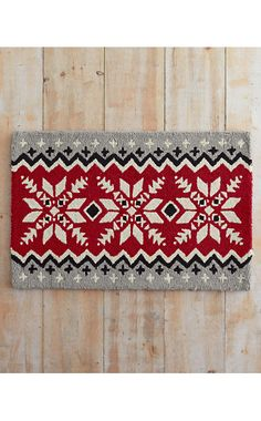 Nordic Hooked Wool Rug Collection