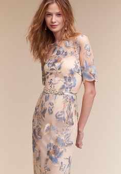 BHLDN Guilia Dress in Dresses Mother of the Bride Dresses Blue Bridesmaids, Bridesmaid Dresses, Wedding Dresses, Bride Dresses, Party Dresses, Wedding Outfits, Mob Dresses, Dresses For Work, Formal Wedding Attire