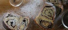 Εύκολο κέικ τσουρέκι με κακάο και με κανέλα