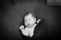 newborn photography black and white