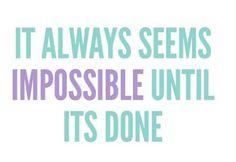 It's always possible!