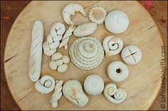 DIY Salt Dough Bread Rolls Play Food - Bakery » Coffee and Vanilla