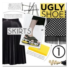 """""""Ugly Shoe"""" by fashionlover2157 ❤ liked on Polyvore featuring Elizabeth and James, Cusp by Neiman Marcus, Prada, fashionset, polyvoreeditorial and uglyshoes"""