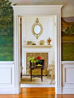 Improve the makeup of any room with beautiful, eye-catching details, like crown molding, wainscoting, and more molding and trim ideas.