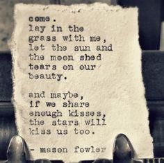 On beauty.