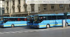 details on moving around Tuscany by bus