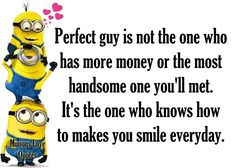 Discover recipes, home ideas, style inspiration and other ideas to try. Minion Love Quotes, Minions Love, Minions Quotes, Minions Minions, Meaningful Quotes, Inspirational Quotes, Marriage Challenge, Hj Story, English Jokes