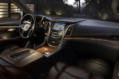 2015 Cadillac Escalade Interior Teased - Motor Trend WOT