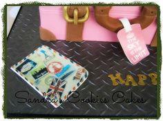 Travel bag cake!!!