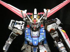 PG 1/60 Strike Gundam + Aile Strike Pack w/ Skygrasper Modeled by Terry Wong CLICK HERE TO VIEW FULL POST...