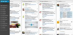 tweetdeck is een leuke tool om je tweets te bekijken