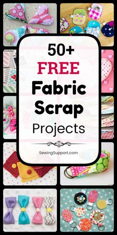 Free Fabric Scrap ProjectsSewing projects using fabric scraps. free fabric scrap sewing projects, diy tutorials, and patterns. Sew quick and easy, small and simple crafts using leftover fabric scraps. Many beginner friendly projects. Scrap Fabric Projects, Small Sewing Projects, Sewing Projects For Beginners, Fabric Scraps, Sewing Hacks, Sewing Tutorials, Sewing Crafts, Sewing Tips, Sewing Ideas