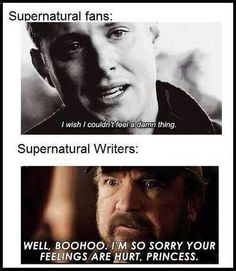 It's funny because Robert Singer is a writer, the director and executive producer of Supernatural Supernatural Fans, Castiel, Supernatural Crafts, Supernatural Pictures, Supernatural Tattoo, Supernatural Wallpaper, Sam Winchester, Winchester Brothers, Jensen Ackles