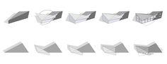 Folding Diagram - Pre-Fab House Univ. of Colorado Spring 2006 - Julee Herdt Studio
