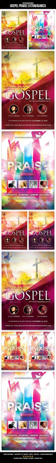 Easter Concert Flyer Template Concert flyer, Flyer template and - benefit flyer template