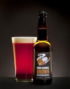 Brown - Triton Brewing   #packaging #bottledesign #beer