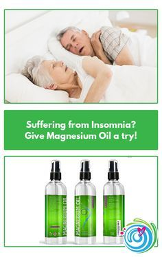 Suffering from Insomnia? Give Magnesium Oil a try! Spray your feet with…