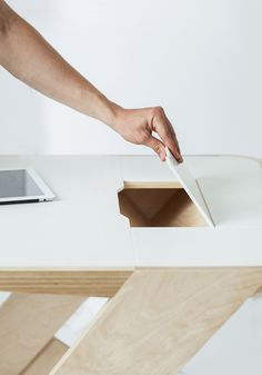 Designer Tables Go from Stationary to Mobile Instantly
